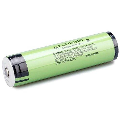 Фото - Аккумулятор Li-Ion 3400 мА·ч Panasonic NCR18650B с защитой, 1 шт. аккумулятор li ion 550 ма·ч robiton 16340 кол во в упаковке 2 шт