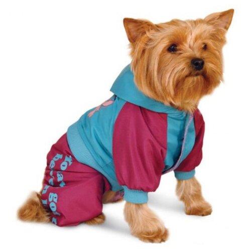Комбинезон для собак Triol Disney Stitch L голубой/малиновый