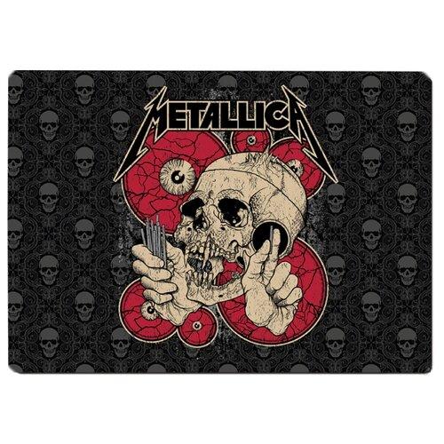 Коврик для мыши Metallica Череп