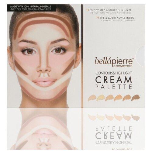 Bellapierre Кремовая палитра для моделирования лица Contour & Highlight Cream Palette TEP011