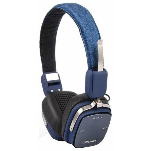 Наушники CROWN MICRO CMBH-9301 синий maxi micro deluxe синий mmd023 micro