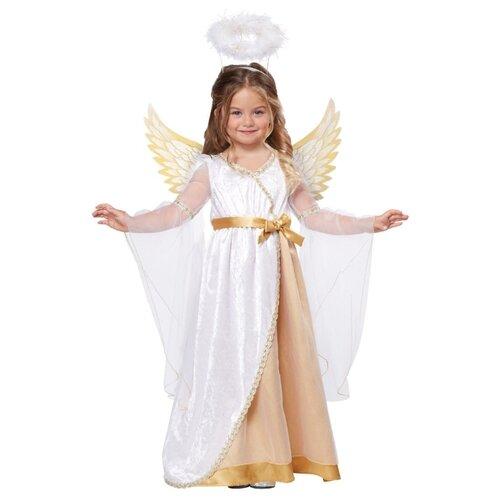 Купить Костюм California Costumes Ангелочек 00146 / 00443, белый/золотой, размер M (3-4 года), Карнавальные костюмы