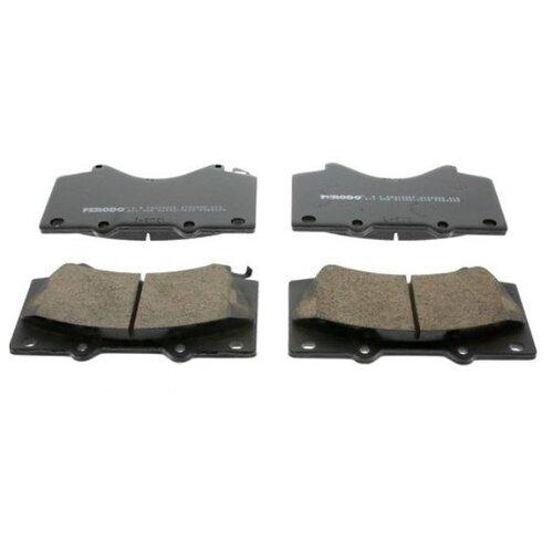 цена на Дисковые тормозные колодки передние Ferodo FDB4229 для Toyota Tundra, Toyota Land Cruiser, Toyota Sequoia, Lexus LX (4 шт.)