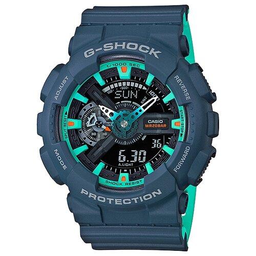 Наручные часы CASIO GA-110CC-2A casio часы casio ga 110nc 2a коллекция g shock