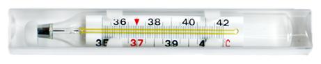 Термометр Импэкс-Мед Ртутный, легкое считывание (футляр