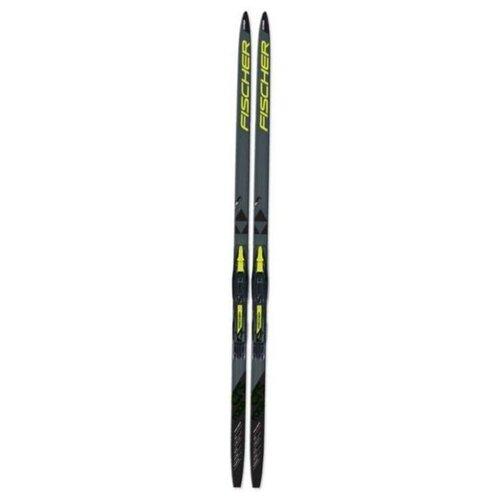 Беговые лыжи Fischer CRS Race Jr без креплений черный/серый 2019-2020 167 см палки для горных лыж fischer rc4 pro jr 2018 2019 70 black