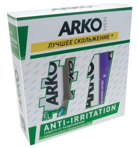 Набор Anti-Irritation (гель для бритья + лосьон после бритья) Arko