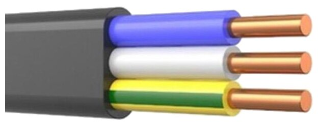 Кабель Prysmian ВВГ-Пнг(А) 3х2.5 (100 м) ГОСТ