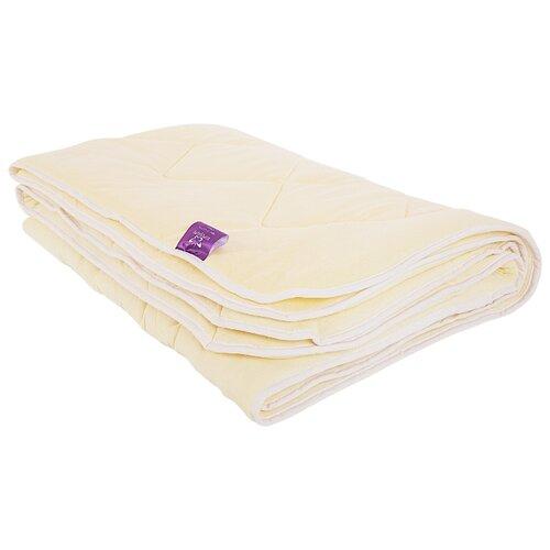 Одеяло Kupu-Kupu Бамбук Classic трикотажное, легкое, 140 х 205 см (экрю) одеяло belashoff белое золото стеганое легкое цвет белый 140 х 205 см