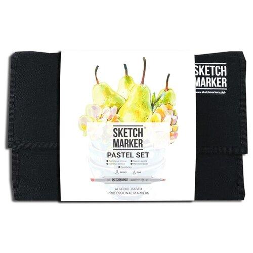 Купить SketchMarker Набор маркеров Pastel Set, 24 шт., Фломастеры и маркеры