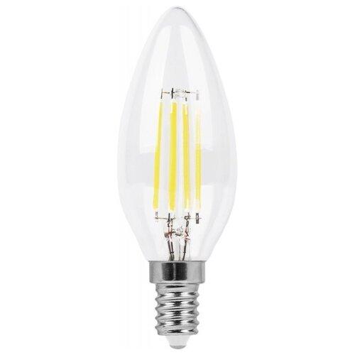 Лампа светодиодная Feron LB-66 25726, E14, C35, 7Вт лампа светодиодная feron lb 59 25575 e14 c35t 5вт