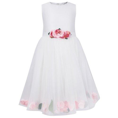 Платье Lesy размер 128, белый
