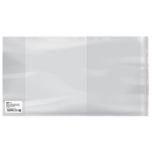 Купить ArtSpace Набор обложек для дневников и тетрадей с липким слоем 210х380 мм, 80 мкм, 50 штук прозрачный, Обложки