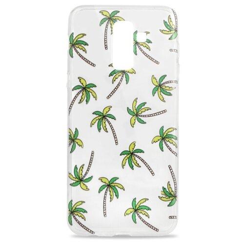 Купить Чехол Pastila Spring picture для Samsung Galaxy J8 пальмы