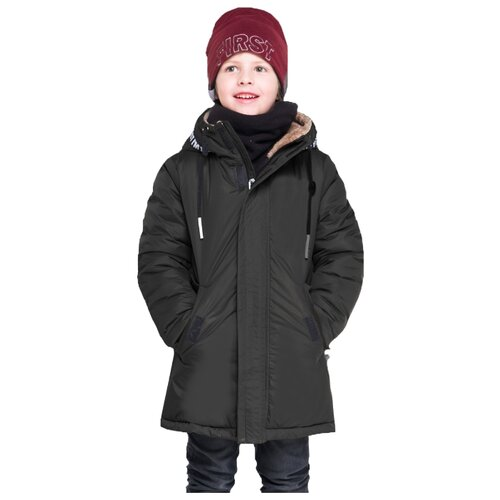 Куртка BOOM! by Orby 90574_BOB размер 122, черный фото