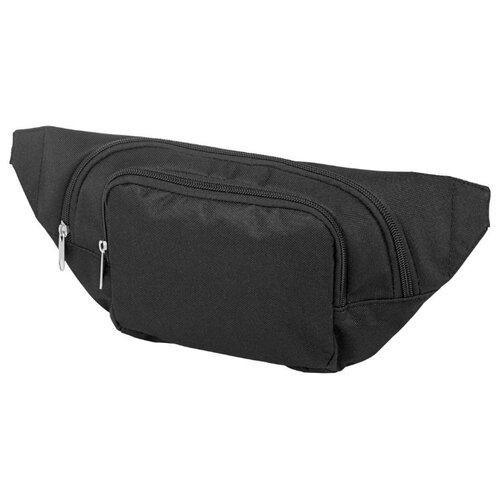 Сумка поясная Oasis, текстиль, черный сумка поясная kite время и стекло vis19 2562 текстиль
