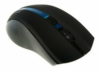 Мышь Jet.A OM-U40G Black-Blue USB