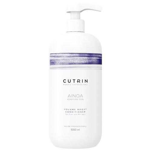 Cutrin кондиционер Ainoa Volume Boost для придания объема волосам, 1000 мл show beauty кондиционер lux volume для придания объема волосам 200 мл