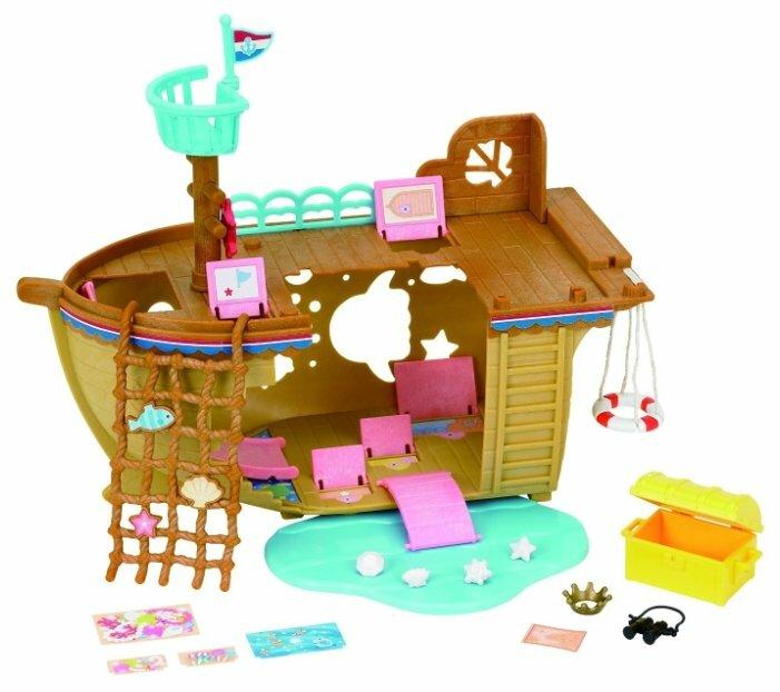 Игровой набор Sylvanian Families Детская площадка Сокровища морей 5210 фото 1