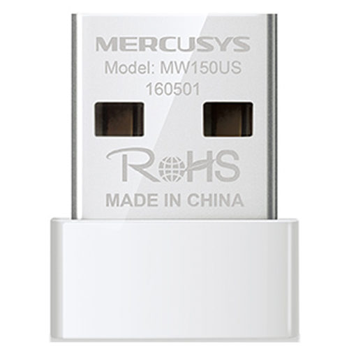 Wi-Fi адаптер Mercusys MW150US белый