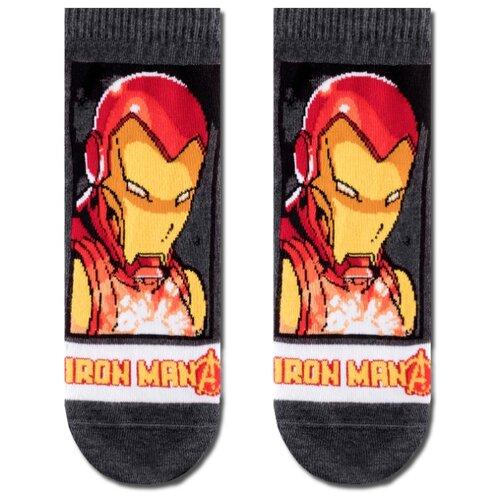 Фото - Носки Marvel 17С-141СПМ 065 Diwari, 29 размер, темно-серый носки мужские стильная шерсть цвет темно серый белый 618 1с47 125 размер 29