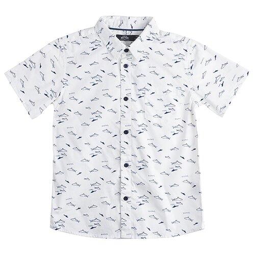 Рубашка Daniele Patrici размер 11-12, белыйРубашки<br>
