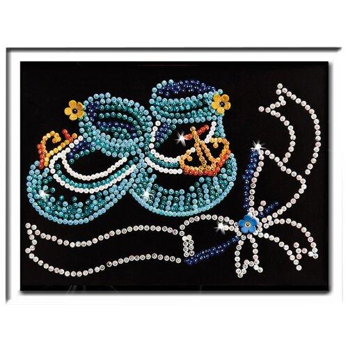 Купить Волшебная Мастерская Мозаика из пайеток Метрика для мальчика 044, Картины из пайеток