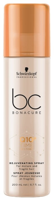 BC Bonacure несмываемый кондиционер-спрей для волос Q10+ Time Restore Rejuvenating Омолаживающий