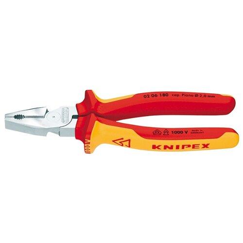 цены Плоскогубцы Knipex 02 06 180 180 мм