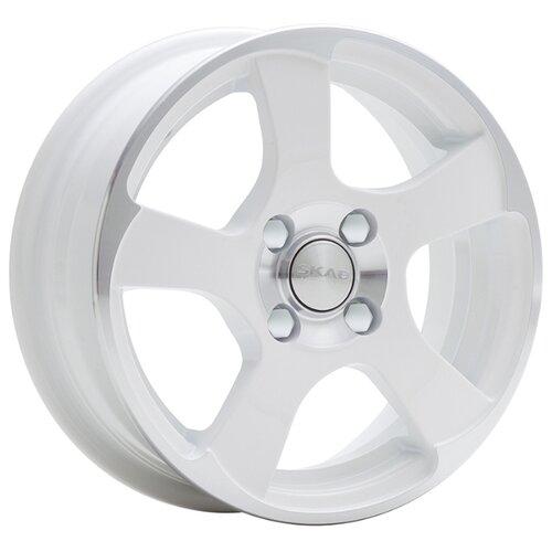 Фото - Колесный диск SKAD Акула 5.5x14/4x98 D58.6 ET35 Алмаз белый колесный диск skad веритас 5 5x14 4x98 d58 6 et35 селена
