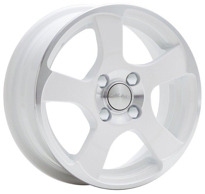 Колесный диск SKAD Акула 5.5x14/4x98 D58.6 ET35 Алмаз белый