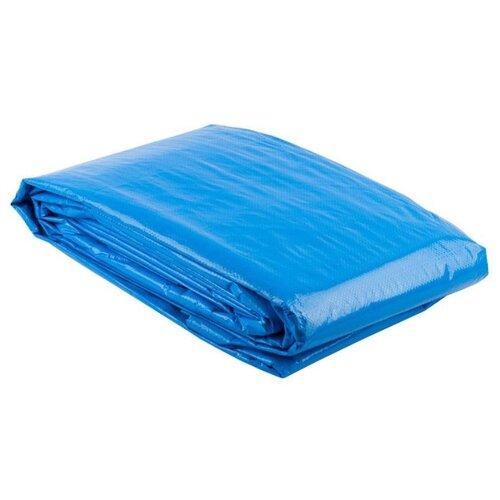 Тент ЗУБР Эксперт 12552 синий 120 г/м2 3000х5000 мм 15 м2 вилы садовые зубр эксперт пластиковая рукоятка 120 см