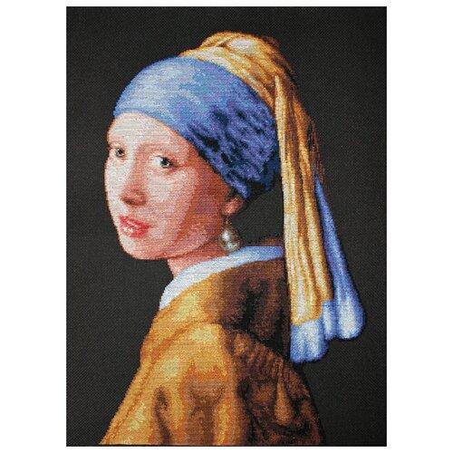 Фото - Luca-S Набор для вышивания Девушка с жемчужиной, 27 x 41 см, B467 макс зейдевиц рут зейдевиц девушка с жемчужиной