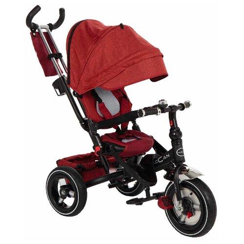 Купить Трехколесный велосипед McCan M-8 красный, Трехколесные велосипеды