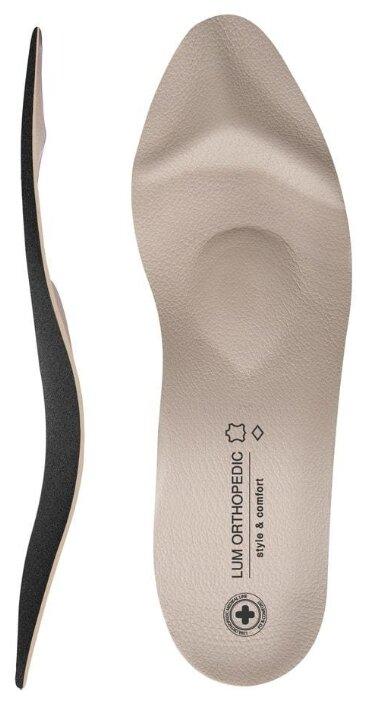 Luomma Стельки ортопедические для открытой модельной обуви LUM207 бежевый 37
