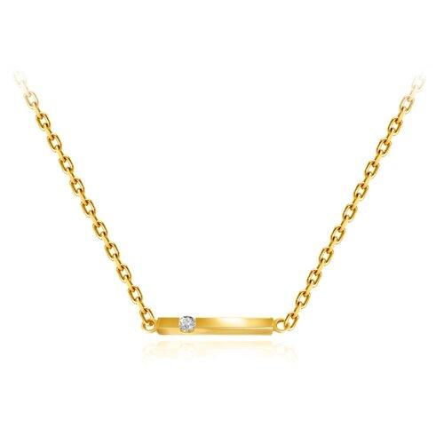 Бронницкий Ювелир Колье из желтого золота 54319519, 45 см, 2.45 г бронницкий ювелир колье из желтого золота 54319559 45 см 2 98 г