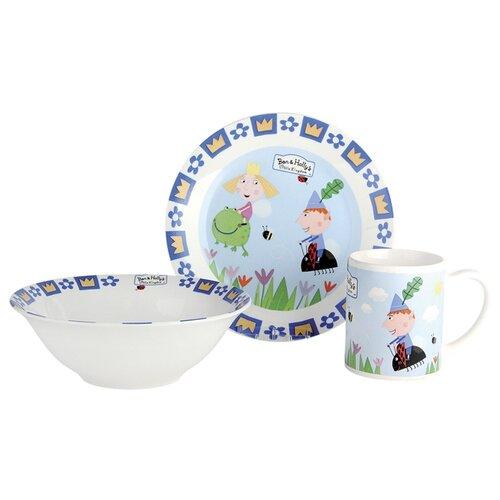 Набор для завтрака Коралл Бен и Холли 2 (3 предмета) набор для завтрака osz disney cars принцессы 3 предмета