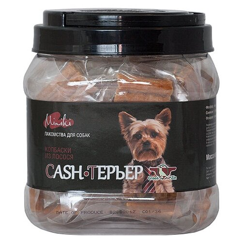 Фото - Лакомство для собак Green Qzin Miniki Cash-терьер, 520 г лакомство для собак green qzin miniki гибкость мягкие утиные хрящики для мини пород 260 г
