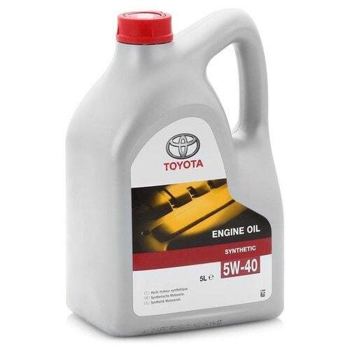 Моторное масло TOYOTA SAE 5W-40 5 л