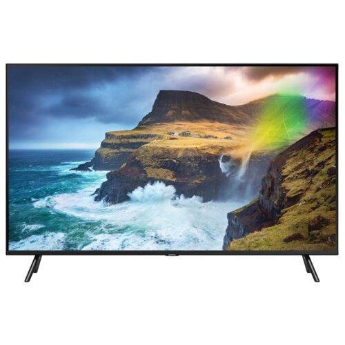 Фото - Телевизор QLED Samsung QE49Q70RAU 49 (2019) черный телевизор qled samsung qe49q77rau 49 2019 черный графит