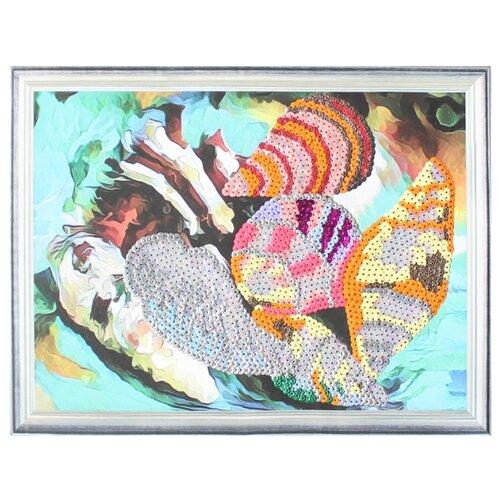 Купить Color Kit Картина из пайеток Ракушки (CME011), Картины из пайеток