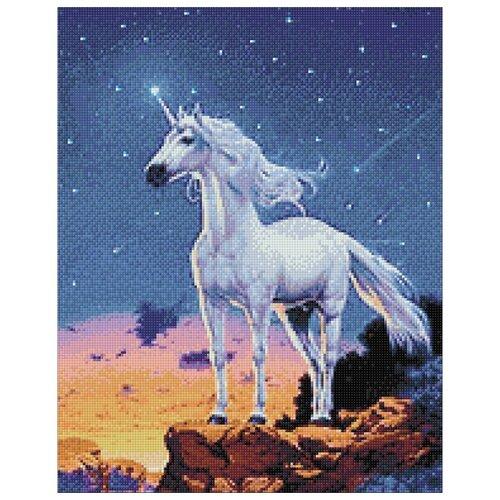 Купить Гранни Набор алмазной вышивки Звездный единорог (Ag 129) 38х48 см, Алмазная вышивка