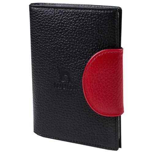 Бумажник водителя Mumi черный 194-21, натуральная кожа