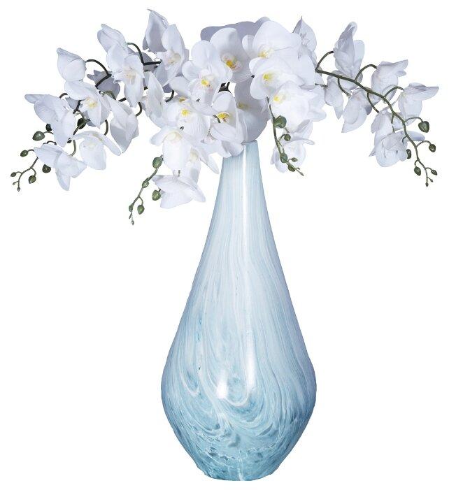 Ваза Home Philosophy Taylor (F51723), бело-голубой