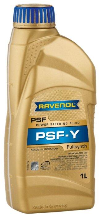 Ravenol psf-y fluid жидкость гур 1 л (4014835718616) коричневая