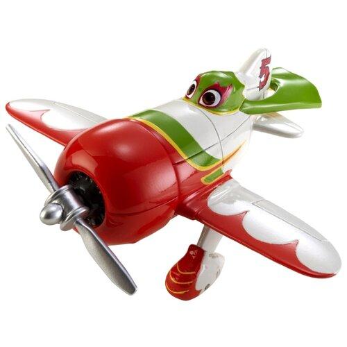 Самолет Mattel Planes El Chupacabra (X9459/X9463) красный/белый платье oodji ultra цвет красный белый 14001071 13 46148 4512s размер xs 42 170
