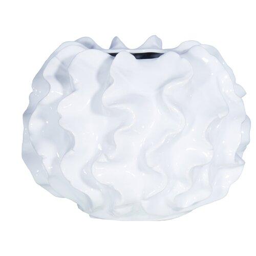 Ваза Home Philosophy Possey (F51702), белый home philosophy ваза кувшин melanie цвет зеленый 16х16х19 см