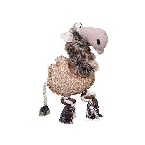 Игрушка для собак DEZZIE Верблюд (5640 003) бежевый