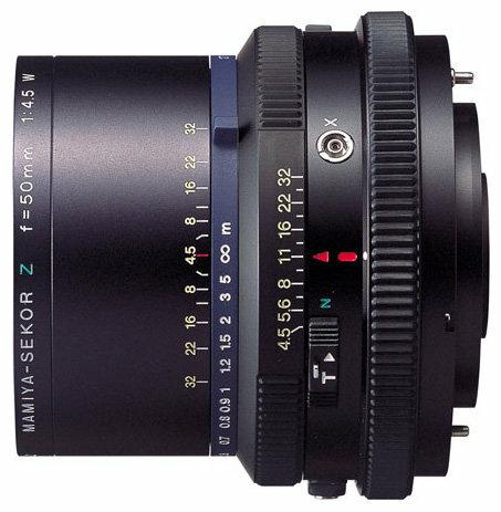 Объектив Mamiya Sekor Z 50mm f/4.5 W RZ65