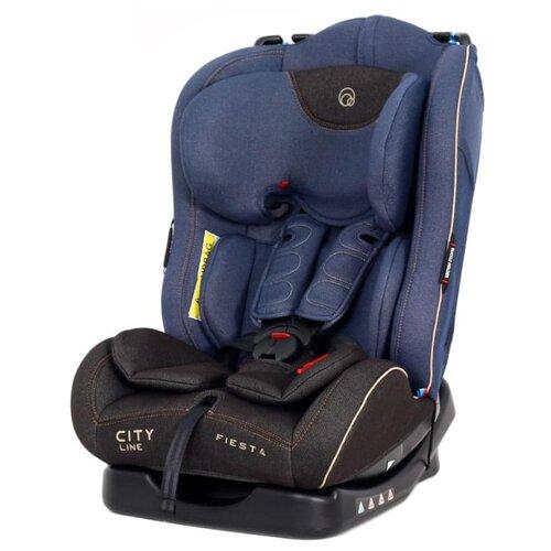 Фото - Автокресло группа 0/1/2 (до 25 кг) RANT Fiesta City line, jeans автокресло группа 0 1 2 до 25 кг rant top line карбон клетка